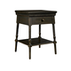 Stone & Leigh Smiling Hill Bedside Table in Licorice 560-83-80