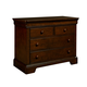 Stone & Leigh Teaberry Lane Single Dresser in Midnight Cherry 575-13-01