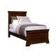 Stone & Leigh Teaberry Lane Twin Panel Bed in Midnight Cherry 575-13-35