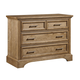 Stone & Leigh Chelsea Square Single Dresser in French Toast 584-63-01