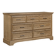 Stone & Leigh Chelsea Square Drawer Dresser in French Toast 584-63-02