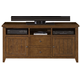 Liberty Hearthstone Entertainment TV Stand in Rustic Oak 382-TV62