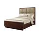Lexington Laurel Canyon California King Casa del Mar Upholstered Bed in Mocha 721-1335C