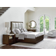 Lexington Laurel Canyon 4-Piece  Casa del Mar Upholstered Bedroom Set in Mocha