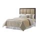 Lexington Laurel Canyon California King Casa del Mar Upholstered Headboard Bed in Mocha