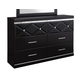 Francee Dresser in Black B348-31