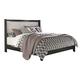 Francee Queen Panel Bed in Black