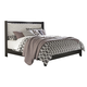 Francee King Panel Bed in Black