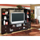 Pinella Entertainment Unit in Merlot