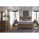 Pulaski Reddington 4-Piece Metal Panel Bedroom Set