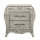 Pulaski Rhianna Nightstand in Silver Patina 788140 SPECIAL