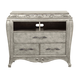 Pulaski Rhianna Media Chest in Silver Patina 788145