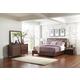 Pulaski Modern Harmony 4pc Upholstered Platform Bedroom Set