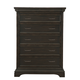 Pulaski Caldwell Drawer Chest in Dark Wood P012124