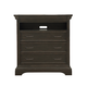 Pulaski Caldwell Media Chest in Dark Wood P012145