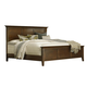 A-America Westlake Queen Platform Bed in Brown Cherry WSLCB5030
