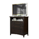 A-America Westlake Media Chest in Dark Mahogany WSLDM5740