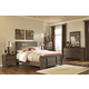 Allymore Panel Bedroom Set in Brownish Gray