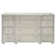 Bernhardt Criteria 12 Drawer Dresser in Heather Gray 363-052G
