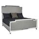 Bernhardt Criteria 4pc Metal Upholstered Panel Bedroom Set