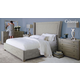Bernhardt Criteria 4pc Upholstered Panel Bedroom Set