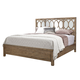 Aspenhome Tildon Cal King Mirrored Panel Bed in Mink I56-495;I56-410;I56-407
