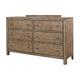 Aspenhome Tildon 6 Drawer Dresser in Mink I56-453