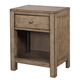 Aspenhome Tildon One Drawer Nightstand in Mink I56-451N