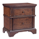 Aspenhome Bancroft Liv360 2 Drawer Nightstand in Java I08-450