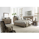 Aspenhome Tildon Sleigh Bedroom Set in Mink I56-404SET