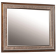Aspenhome Bancroft Mirror with Leather Trim in Java I08-464