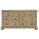 Bernhardt Antiquarian 7 Drawer Dresser in Wheat 365-052