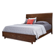 Aspenhome Walnut Heights Cal King Sleigh Storage Bed in Warm Tobacco IWH-404;IWH-407D;IWH-410