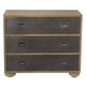 Bernhardt Antiquarian 3 Drawer Bachelor's Chest in Wheat 365-228