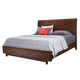 Aspenhome Walnut Heights Queen Sleigh Bed in Warm Tobacco IWH-400;IWH-403;IWH-402