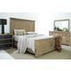 Bernhardt Antiquarian 4pc Panel Bedroom Set in Wheat