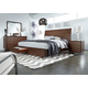 Aspenhome Walnut Heights Sleigh Storage Bedroom Set in Warm Tobacco IWH-400SET