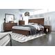 Aspenhome Walnut Heights Sleigh Bedroom Set in Warm Tobacco IWH-404SET