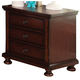 New Classic Youth Jesse 3 Drawer Youth Nightstand in Cherry Brown Y3260-042