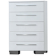 New Classic Sapphire 5 Drawer Chest in White B2643-070