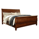 Chaddinfield Queen Sleigh Bed in Deep Natural Cherry