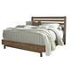 Dondie Queen Bed in Warm Brown