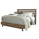 Dondie Cal King Bed in Warm Brown CLEARANCE
