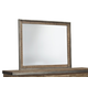 Dondie Mirror in Warm Brown B663-36