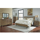 Dondie 4-Piece Bedroom Set in Warm Brown