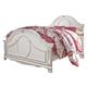 Korabella Full Panel Bed in White