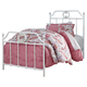 Korabella Twin Metal Bed in White