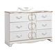 Korabella Dresser in White B355-21
