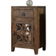 Charlowe Nightstand in Brown B013-692