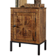 Charlowe Door Nightstand in Brown B013-991